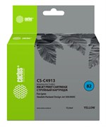 Струйный картридж Cactus CS-C4913 (HP 82) желтый для HP DesignJet 500, 500 Plus, 500ps, 500ps Plus, 510, 510ps, 800, 800ps, 815 MFP, 820 MFP, Copier CC800, Copier CC800ps (72 мл)