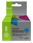 Струйный картридж Cactus CS-C8775 (HP 177) светло-пурпурный для HP PhotoSmart 3100, 3210, 3213, 3310, 3313, C5183, C6100, C6183, C6200, C6283, C7183, C7200, C7280, C7283, C8183, D7100, D7160, D7163, D7300, D7363 (11,4 мл)