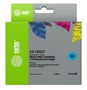 Струйный картридж Cactus CS-C9427 (HP 85) желтый для HP DesignJet 30, 30gp, 30n, 90, 90gp, 90r, 130, 130de, 130gp, 130nr, 130r (72 мл)