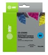 Струйный картридж Cactus CS-C9393 (HP 88XL) желтый увеличенной емкости для HP OfficeJet K5300 Pro, K5400 Pro, K550 Pro, K8600 Pro, L7400 Pro, L7480 Pro, L7500 Pro, L7580 Pro, L7590 Pro, L7680 Pro, L7780 Pro (29 мл)