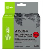 Струйный картридж Cactus CS-PG440XL (PG-440XL) черный для Canon Pixma MG2140, MG2240, MG2245, MG3140, MG3240, MG3540, MG3640, MG4140, MG4240, MG4250, MX375, MX394, MX454, MX474, MX514, MX524, MX534, TS5140 (20 мл)