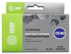 Струйный картридж Cactus CS-EPT0540 (T0540) глянцевый для принтеров Epson Stylus Photo R800, R1800 (16,2 мл)