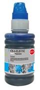 Чернила Cactus CS-I-CL511C голубой для Canon PIXMA MP240, MP250, MP260, MP270, MP480 (100 мл)