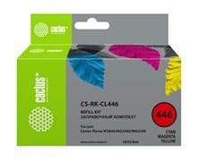 Заправочный набор Cactus CS-RK-CL446 многоцветный для Canon Pixma MG2440, MG2541 (3*30ml)