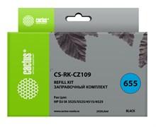Заправочный набор Cactus CS-RK-CZ109 черный для HP DeskJet IA 3525, 5525, 4515, 4525 (2*30 мл.)