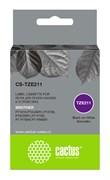 Картридж ленточный Cactus CS-TZE211 черный для Brother 1010, 1280, 1280VP, 2700VP