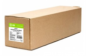 """Холст для струйной печати Cactus CS-MC400-61015 24""""(A1) 610мм-15.2м, 400г/м2, белый хлопок, втулка: 50.8мм (2"""")"""
