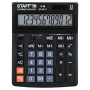 Калькулятор настольный STAFF STF-444-12 (199x153 мм), 12 разрядов, двойное питание