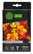 Фотобумага Cactus Prof CS-HGA628020 10x15, 280г/м2, 20л., белый высокоглянцевое для струйной печати