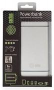 Мобильный аккумулятор Cactus CS-PBMS029-10000AL 10000mAh 1A+2.1A серебристый