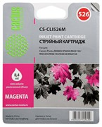 Струйный картридж Cactus CS-CLI526M (CLI-526M) пурпурный для принтеров Canon Pixma MX885, IP4850, MG5150, MG5250, MG6150, IX6550, MG8151 (500 стр.)