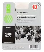 Струйный картридж Cactus CS-PGI9PBK (1034B001) фото черный для Canon Pixma iX7000, MX7600, PRO-9500, PRO9500 Mark II (650 стр.)