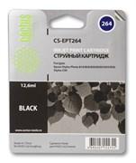 Струйный картридж Cactus CS-EPT264 (C13T02640110) черный для принтеров Epson Stylus C50, Photo 810, 820, 830, 830U, 925, 935 (12.6 мл)