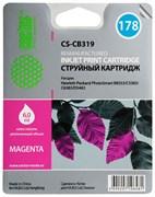 Струйный картридж Cactus CS-CB319 (HP 178) пурпурный для HP DeskJet 3070A B611, 3522; PhotoSmart 5510 B111, 5520, 7520, B010, B110, B209, B210, B8553, C309, C310, C410, C5300, C5380, C5383, C6383, D5460, D5463 (6 мл.)