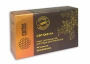 Лазерный картридж Cactus CSP-Q6511A (HP 11A) черный для принтеров HP LaserJet 2400 series, 2410, 2410N, 2420, 2420D, 2420DN, 2420N, 2430, 2430DTN, 2430N, 2430T, 2430TN (7000 стр.)