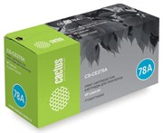 Лазерный картридж Cactus CS-CE278A (HP 78A) черный для принтеров HP LaserJet M1536 MFP Pro, M1536dnf MFP Pro, P1560 Pro, P1566 Pro, P1600 Pro, P1606 Pro, P1606dn Pro, P1606w Pro (2100 стр.)