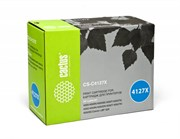 Лазерный картридж Cactus CS-C4127X (HP 27X) черный увеличенной емкости для HP LaserJet 4000, 4000N, 4000T, 4000TN, 4000SE, 4050, 4050N, 4050T, 4050TN, 4050SE (10'000 стр.)