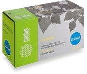 Лазерный картридж Cactus CS-CE252A (HP 504A) желтый для принтеров HP  Color LaserJet CM3530, CM3530fs MFP, CP3520, CP3525, CP3525dn, CP3525x (7'000 стр.)