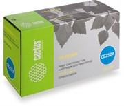 Лазерный картридж Cactus CS-CE252A (HP 504A) желтый для принтеров HP  Color LaserJet CM3530, CM3530fs MFP, CP3520, CP3525, CP3525dn, CP3525n, CP3525x (7000 стр.)