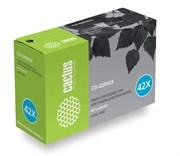 Лазерный картридж Cactus CS-Q5942X (HP 42X) черный для принтеров HP LaserJet 4240, 4240N, 4250, 4250DTN, 4250DTNSL, 4250N, 4250TN, 4350, 4350DTN, 4350DTNSL, 4350N, 4350TN (20000 стр.)