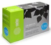 Лазерный картридж Cactus CS-Q6511X (HP 11X) черный для принтеров HP LaserJet 2400 series, 2410, 2410N, 2420, 2420D, 2420DN, 2420N, 2430, 2430DTN, 2430N, 2430T, 2430TN (12000 стр.)