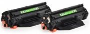 Лазерный картридж Cactus CS-CE278AD (HP 78A) черный для принтеров HP LaserJet M1536 MFP Pro, M1536dnf MFP Pro, P1560 Pro, P1566 Pro, P1600 Pro, P1606 Pro, P1606dn Pro, P1606w Pro (2 x 2100 стр.)