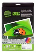 Этикетки Cactus С-30117117 A4 2шт на листе диаметр 117мм, 50л.