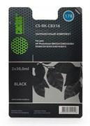 Заправочный набор Cactus CS-RK-CB316 черный 60мл для HP PhotoSmart B8553/C5383/C6383/D5463/5510