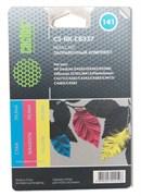 Заправочный набор Cactus CS-RK-CB337 цветной (3x30мл) HP DeskJet D4263/D4363/D5360; OfficeJet J5783