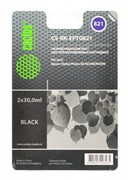 Заправка для ПЗК Cactus CS-RK-EPT0821 черный Epson Photo R270, 290 (2*30ml)