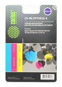 Заправка для ПЗК Cactus CS-RK-EPT0922-4 цветной Epson Stylus C91 (3*30ml)