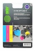 Заправка для ПЗК Cactus CS-RK-EPT1282-4 цветной Epson Stylus S22 (3*30ml)