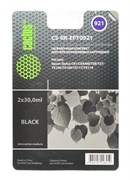 Заправочный набор для ПЗК Cactus CS-RK-EPT0921 черный Epson Stylus C91 (2*30ml)